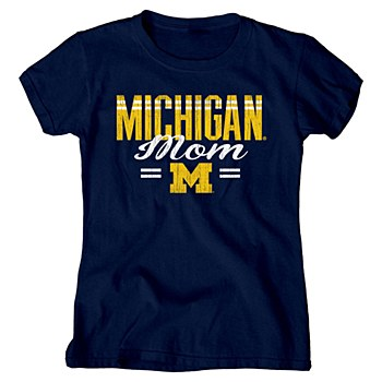 Mich Longer Tee Navy MD Jackie