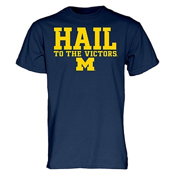 Mich HAIL To The Victors Tee N