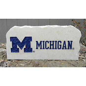 "University of Michigan 17-19in ""M"" Michigan Stone"