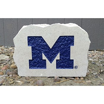 "University of Michigan 9-11in ""M"" Stone"