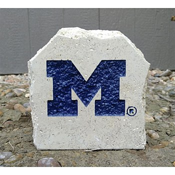 "University of Michigan 7in ""M"" Desk Stone"