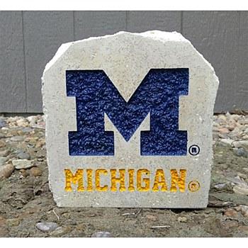 "University of Michigan 7in ""M"" Michigan Stone"