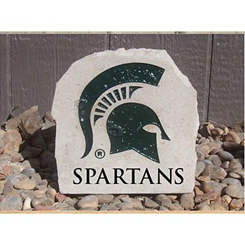 Michigan State University 7in Spartans Desk Stone