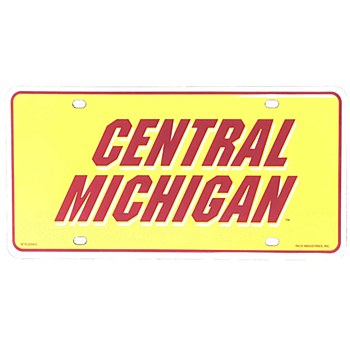 Central Michigan University Metal Tag - Second Design