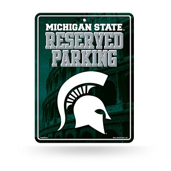Michigan State University Sign - Metal Parking 8.5''x11''