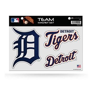 Detroit Tigers Bling Team Magnet Set
