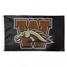 Western Michigan University Flag Deluxe 3' x 5'