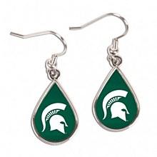 Michigan State University Tear Drop earrings