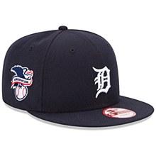 New Era Detroit Tigers Baycik 9FIFTY Navy Adjustable Snapback Hat