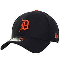 Detroit Tigers New Era MLB Team Classic Road 39THIRTY Flex Hat -Navy