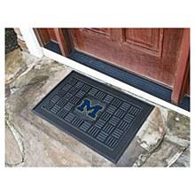 University of Michigan Mat - Vinyl Door Mat 19.5'' x 31.25''