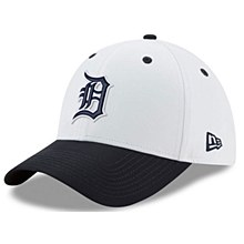 Detroit Tigers New Era On-field Prolight Batting Practice 39Thirty Medium-Large White 2018