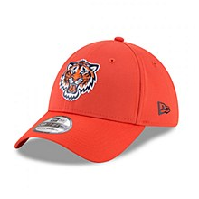 Detroit Tigers New Era On-field Prolight Batting Practice 39Thirty Small-Medium Orange 2018