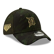 Detroit Tigers New Era 2019 MLB Armed Forces Day 39THIRTY Flex Hat - Camo