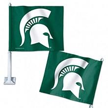 Michigan State University Car Flag 11.75'' x 14''