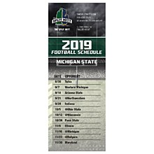 Michigan State University Magnet Football Schdule 2019