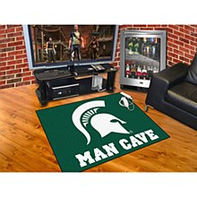 Michigan State University Rug - Man Cave Rug 33.75'' x 42.5''