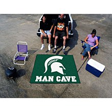 Michigan State University Rug - Man Cave Rug 5' x 6'