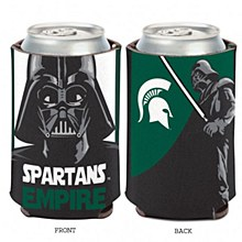Michigan State University Coozie Darth Vader Can Cooler 12oz.