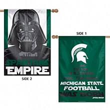 Michigan State University Banner - Star Wars Darth Vader Banner Flag 28'' x 40''