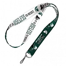 Michigan State University Lanyard  Darth Vader & Yoda 1''
