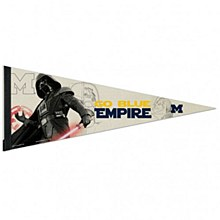 University of Michigan Pennant Vader 12'' x 30''