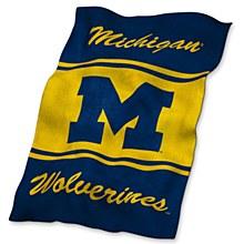 University of Michigan Blanket - UltraSoft Blanket