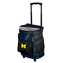University of Michigan Cooler Wolverine Rolling Cooler