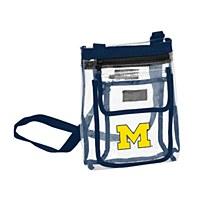 University of Michigan Clear Crossbody