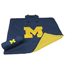 University of Michigan Blanket - All Weather 60'' x 50''