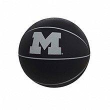 University of Michigan Blackout Full-Size Composite Basketball
