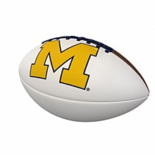 University of Michigan Official-Size Autograph Football
