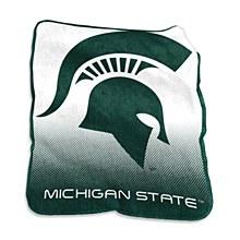 Michigan State University Blanket - Raschel Throw