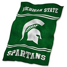 Michigan State UltraSoft Blanket