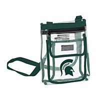 Michigan State University Bag - Clear Crossbody Tote