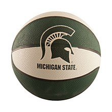 Michigan Sate University Mini Sized Rubber Basketball