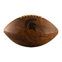 Michigan State University Football Full Size Vintage