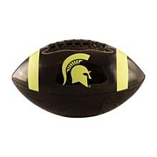 Michigan State University Mini Glossy Black Football