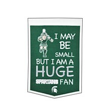 Michigan State University Banner - Lil Fan Traditions Banner 12'' x 22''