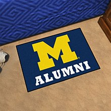 University of Michigan Rug - Alumni 19'' x 30''