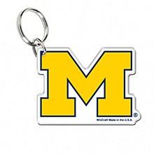 University Michigan Key Ring - Premium Acrylic