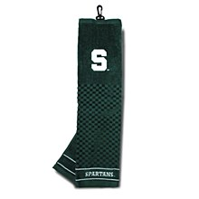 Michigan State University Golf Embroidered Towel