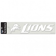 Detroit Lions Decal - Perfect Cut 4'' x 16''