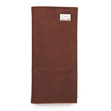 Michigan State University Wallet Brown Secretary Leather