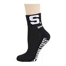 Michigan State University Socks -  Quarter Sock Black