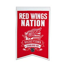 Detroit Red Wings Banner - Redwings Nations 22'' x 15''