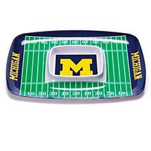 University of Michigan Flag - Chip & Dip Tray