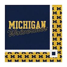 University of Michigan Napkin - Beverage Napkin