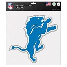 """Detroit Lions Decal - Perfect Cut Color 12"""" x 12"""""""