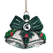 Michigan State University Ornament - Glass Ball Ornament